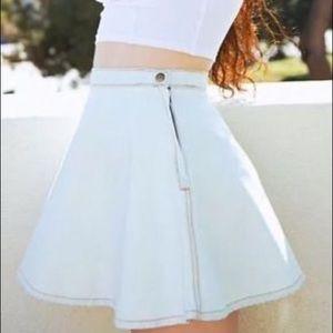 AA circle skirt light denim